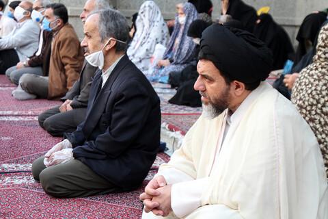 تصاویر / برگزاری نماز عید فطر در مسجد جامع همدان