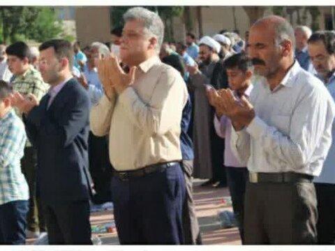 تصاویر نماز عید فطر در شهرستان مهریز