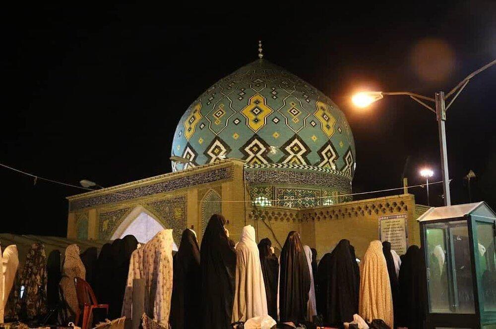 مراسم احیاء شب عیدفطر و نماز عید در مسجد رکن الملک اصفهان