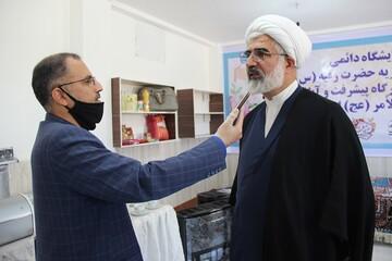 افتتاح نمایشگاه خیریه دائمی جهیزیه حضرت رقیه (س) در قزوین + عکس