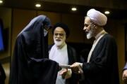 تجلیل از بانوان جهادگر میدان دفاع از سلامت