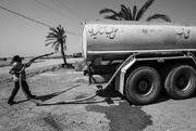 سپاه تانکرهای مخزن آب خود را به خوزستان ارسال کرد / توزیع روزانه ۴۰۰ هزار لیتر آب به مناطق بحرانی