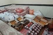 رزمایش کمک مومنانه مدرسه علمیه امیرالمومنین (ع) شهرستان صحنه