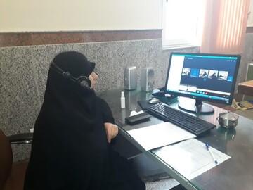 نشست آنلاین بررسی طرح کاهش طلاق در حوزه خواهران برگزار شد
