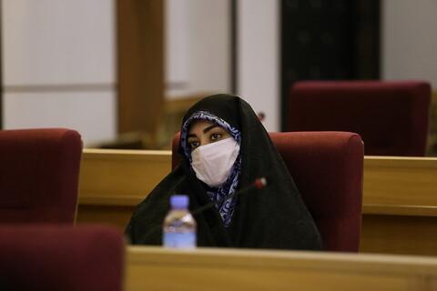 آیین تجلیل از بانوان جهادگر میدان دفاع از سلامت