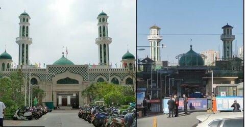 حتی کرونا هم روند اسلام زدایی مساجد چین را متوقف نساخت.