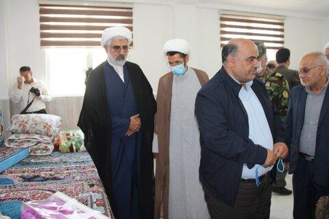 بالصور/ افتتاح معرض السيدة رقية عليها السلام الدائم لجهاز المتبرعين بمدينة قزوين