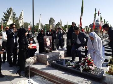 پیوند آسمانی زوج جوان کاشانی در کنار مزار شهید مدافع سلامت