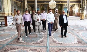 پروتکل های بهداشتی به خوبی در مسجد مقدس جمکران اجرا شده است