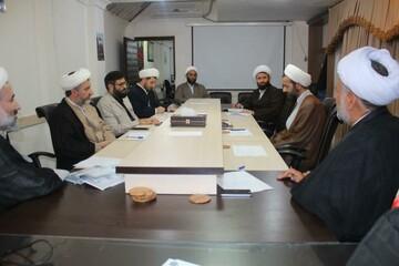 نشست مدیران حوزوی کردستان
