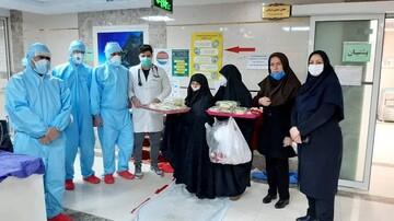 خدمات جهادی طلاب مدرسه علمیه نرجس(س) مشهد