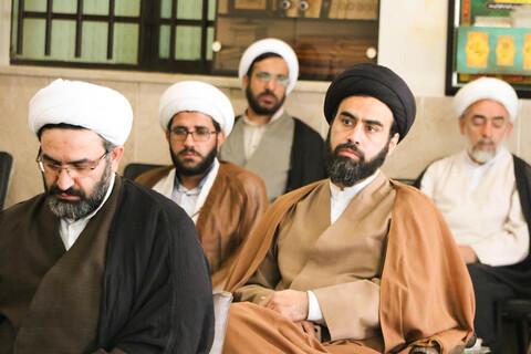 نشست هم اندیشی مدیران مدارس علمیه حوزه اصفهان