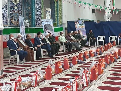 تصاویر/ مرحله پنجم رزمایش  کمک مومنانه درمصلای نمازجمعه آران وبیدگل