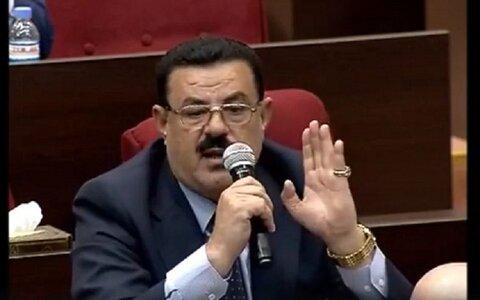 عباس صروط عضو کمیته امنیت مجلس عراق