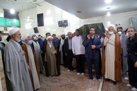 تصاویر / مراسم تشییع آیت الله حاج شیخ ابوالقاسم محجوب جهرمی