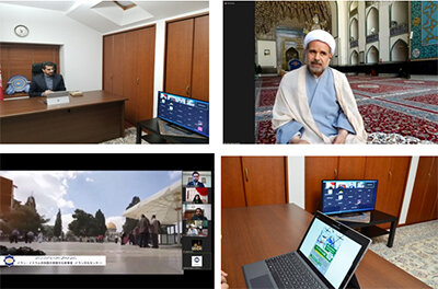 """The second online meeting of the """"Quds and Human Rights"""