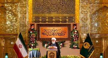 AQR holds thanksgiving ceremony for reopening Imam Reza (AS) holy shrine