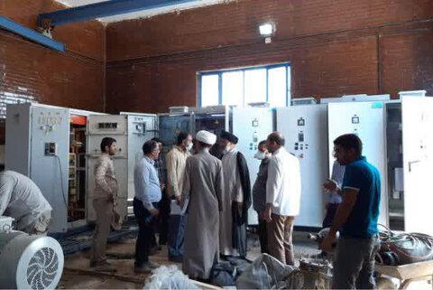 بازدید نماینده ولیفقیه در خوزستان از پروژههای آبرسانی مناطق محروم خوزستان