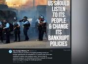 على أميركا الاستماع الى صوت شعبها وتغيير سياساتها الفاشلة