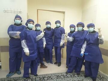 گزارش فعالیتهای طلاب مدارس علمیه خواهران استان قزوین در مقابله با ویروس کرونا