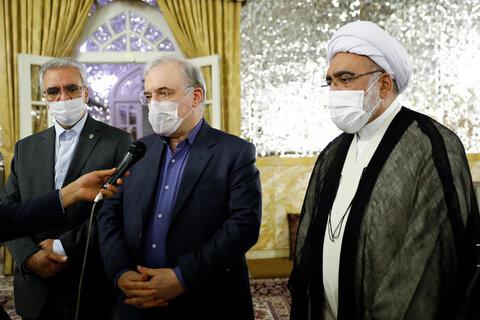 سعید نمکی و احمد مروی