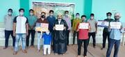 جنت البقیع کی شہادت پر آل سعود کے خلاف مومنین عبداللہ پور سادات کا احتجاج+تصاویر