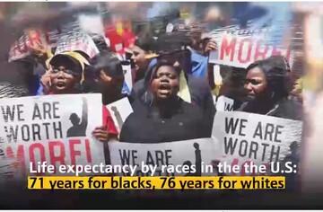 سیاهپوستانی که از حقوق انسانی محرومند