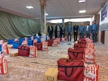 جلوه های احسان و ایثار در رزمایش کمک مومنانه دانشگاه تربت حیدریه