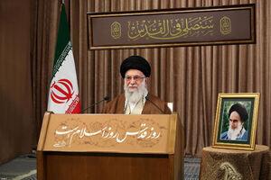 سخنرانی رهبری در روز قدس امپراطوری رسانهای غرب را در مخمصه قرار داد