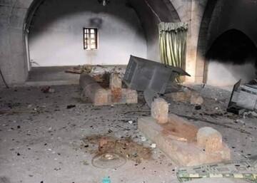 موج سواری حامیان آل سعود از تخریب مقبره «عمر ابن عبدالعزیز» در سوریه