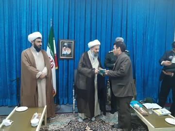 دیدار اعضای ستاد احیای امر به معروف استان اصفهان و کاشان با آیت الله نمازی