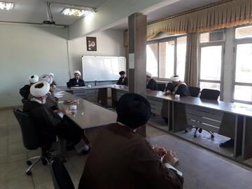 جلسه شورای آموزش حوزه علمیه استان آذربایجان شرقی