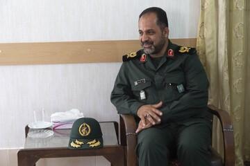 اولین روز کاری فرمانده سپاه الغدیر پس از ارتقا به سرداری+ تصاویر