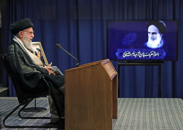 صوت کامل سخنرانی تلویزیونی رهبر انقلاب در سالگرد رحلت امام خمینی (ره)