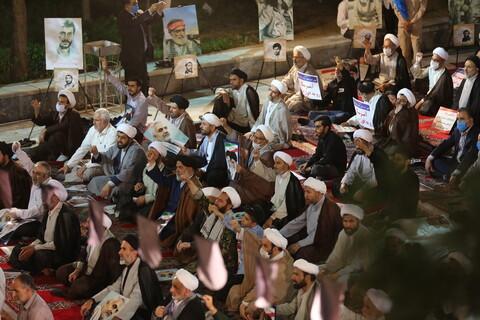 مراسم بزرگداشت امام خمینی (رض ) و قیام یوم الله 15 خرداد در مدرسه مبارکه فیضیه