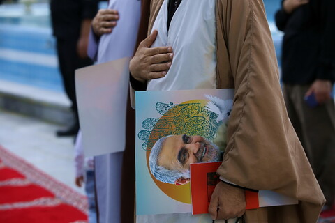 بزرگداشت یوم الله ۱۵ خرداد در مدرسه علمیه فیضیه