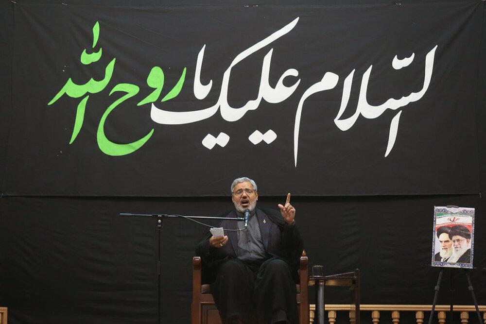 مراسم بزرگداشت سالگرد قیام خونین پانزدهم خرداد برگزار شد