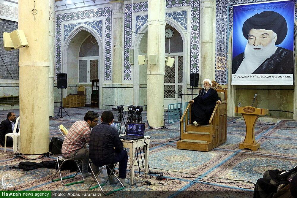 مراسم بزرگداشت آیت الله العظمی بروجردی آنلاین در فضای مجازی