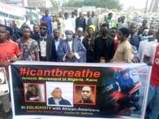 برگزاری تظاهرات آزادی شیخ زکزاکی در ایالت کانو نیجریه+تصاویر