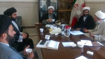 نشست مدیر و معاونان حوزه علمیه خوزستان با مدیرکل ستاد بحران حوزههای علمیه