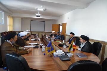 جلسه شورای نهادهای حوزوی استان آذربایجان شرقی