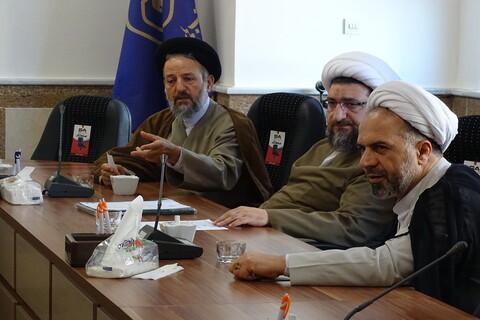 تصاویر / جلسه شورای نهادهای حوزوی آذربایجان شرقی