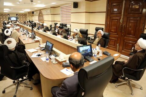 اجلاسیه مدیران استانی حوزههای علمیه با اعضای شورای عالی حوزه به صورت ویدئوکنفرانس