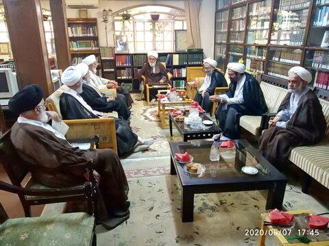 جلسه شورای مرکزی مجمع مسئولان مدارس علمیه استان تهران