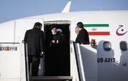 رئیس قوه قضائیه وارد فرودگاه شیراز شد