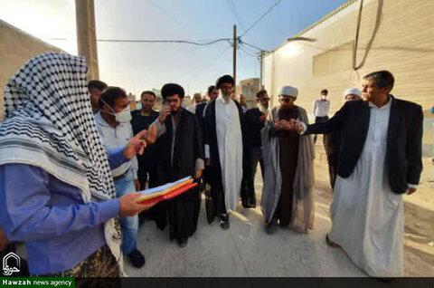 بازدید نماینده ولیفقیه در خوزستان از منطقه نورآباد زرگان