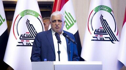 فالح الفیاض رئیس سازمان حشد الشعبی