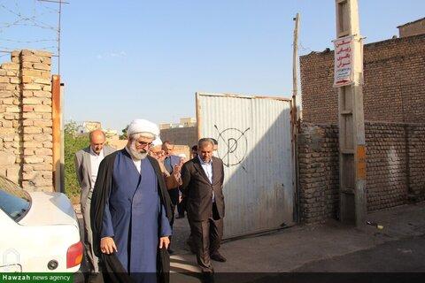 بالصور/ محافظ قزوين يتفقد مدارس هذه المحافظة العلمية