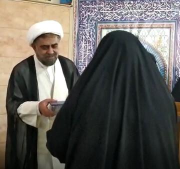 تقدیر مدیر حوزه خواهران اصفهان از بانوان طلبه جهادی