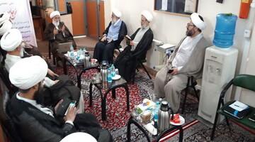 بررسی فعالیت های رسانه حوزه تهران در جلسه شورای معین